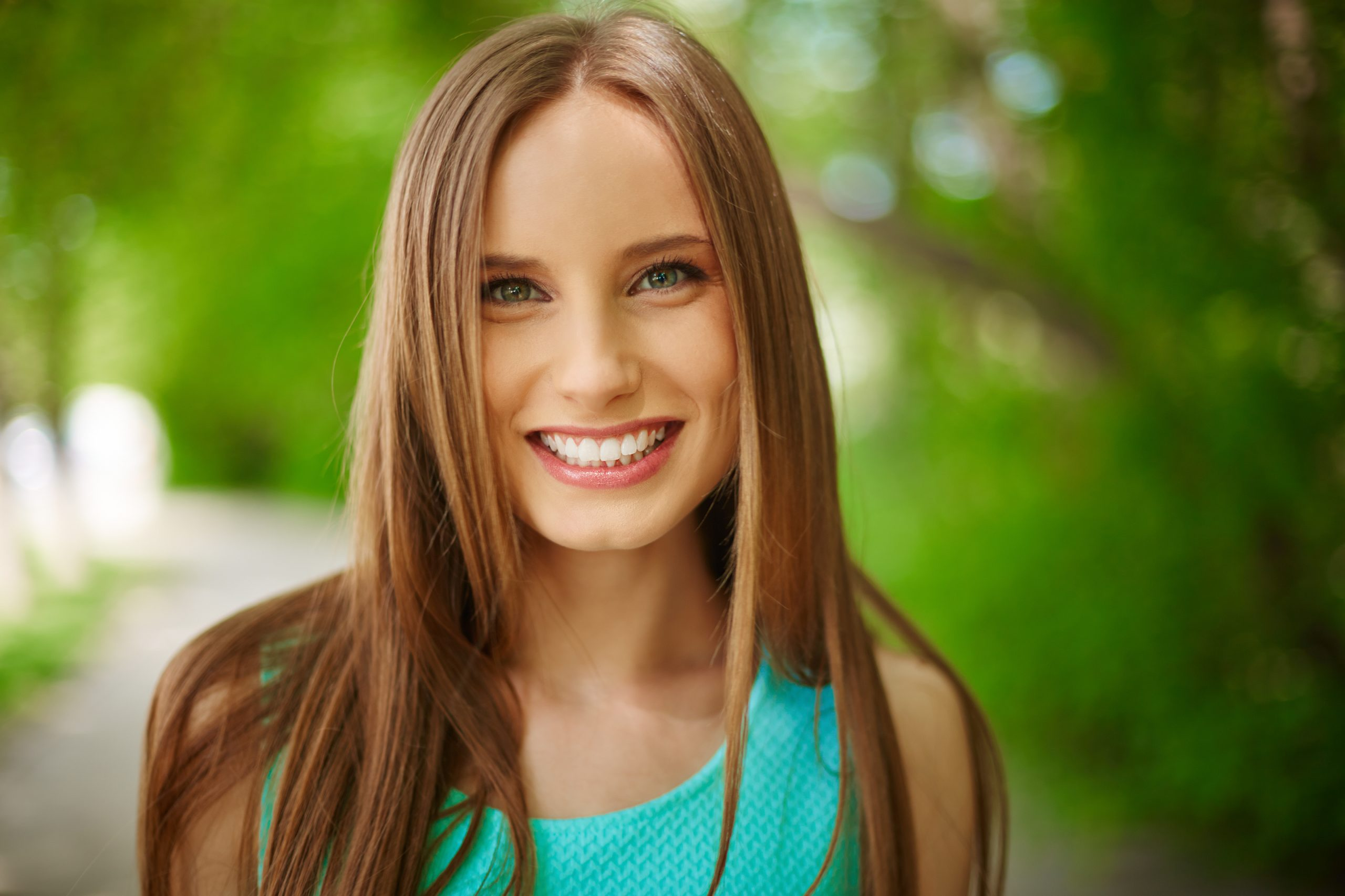 Young Eastern European smiling girl